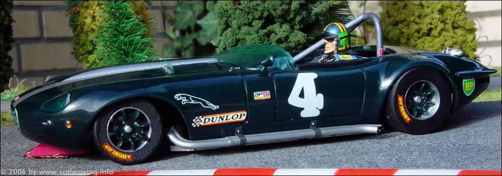 Slotcar Jaguar E Type