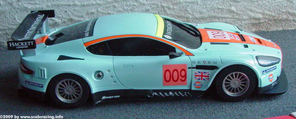 slotcar mini z aston martin dbr9. Black Bedroom Furniture Sets. Home Design Ideas